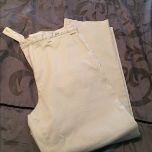 Women's faded glory stretch khakis size 10